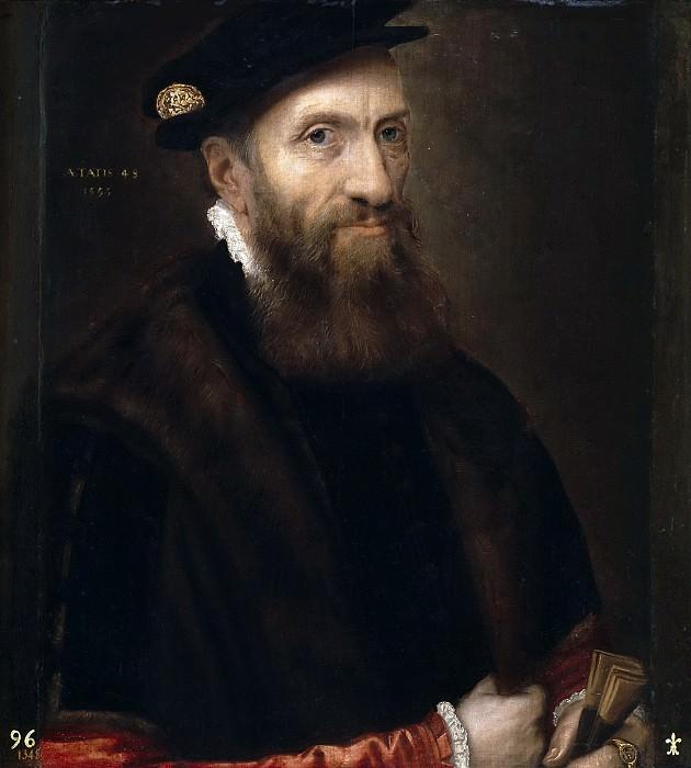 Floris, Frans -- Caballero de 48 años. Part 4 Prado Museum