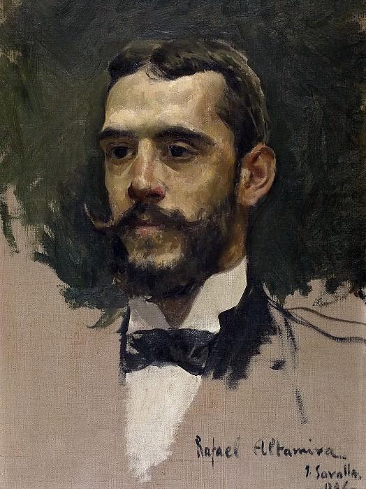 Sorolla y Bastida, Joaquín -- Rafael Altamira y Crevea. Part 4 Prado Museum