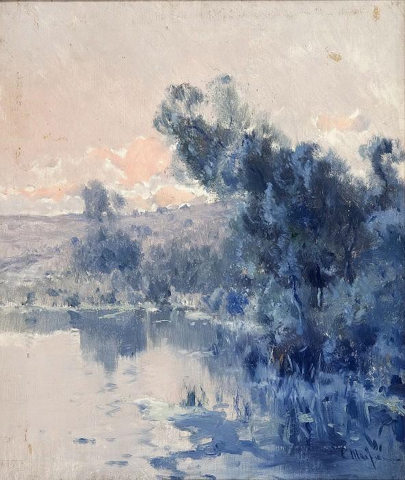 Meifrén Roig, Eliseo -- Paisaje. Part 4 Prado Museum