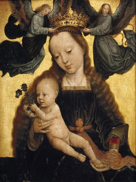 David, Gérard -- La Virgen con el Niño y ángeles. Part 4 Prado Museum