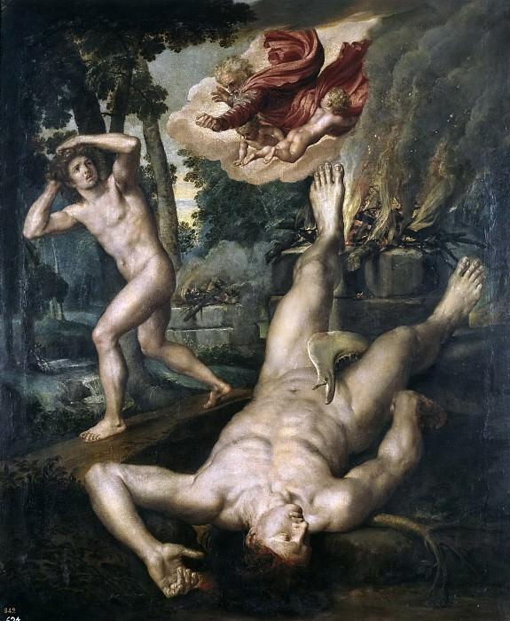 Coxie, Michiel I -- La muerte de Abel. Part 4 Prado Museum