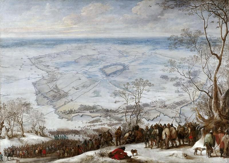 Snayers, Peter -- Asedio de Aire-sur-la-Lys. Part 4 Prado Museum