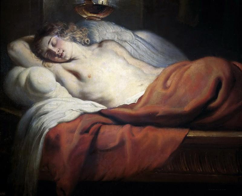 Quellinus, Jan Erasmus -- El Amor dormido. Part 4 Prado Museum