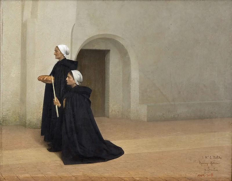 Sautai, Paul Émile -- Les relevailles. Part 4 Prado Museum