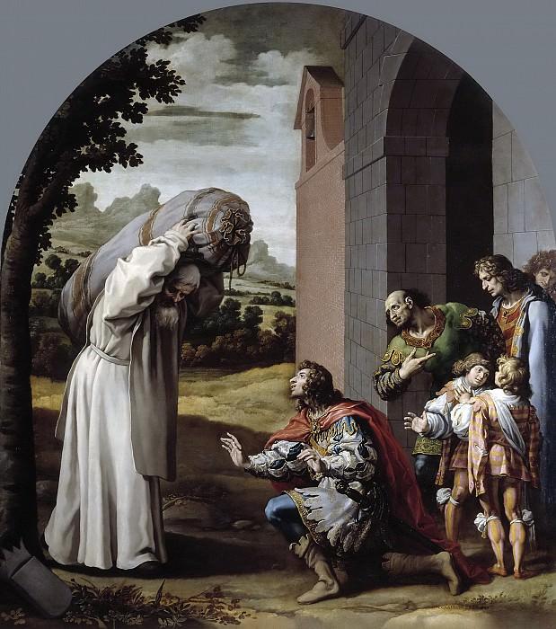 Carducho, Vicente -- La humildad del conde Guillermo II de Nevers. Part 4 Prado Museum