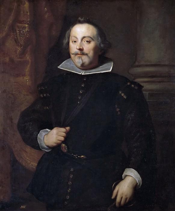 Dyck, Anton van (Taller de) -- Don Francisco de Moncada, marqués de Aytona. Part 4 Prado Museum