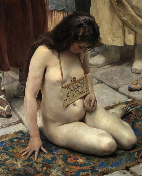 Jiménez Aranda, José -- Una esclava en venta. Part 4 Prado Museum