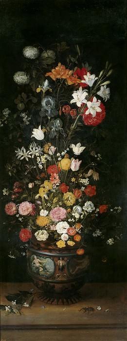 Brueghel el Viejo, Jan -- Florero. Part 4 Prado Museum