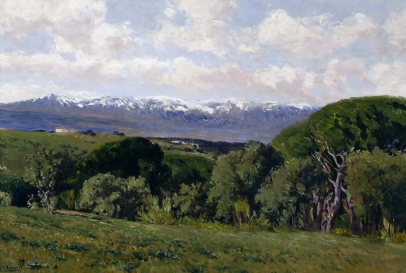 Beruete y Moret, Aureliano de -- Vista del Guadarrama desde El Plantío de los Infantes. Part 4 Prado Museum