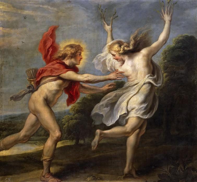 Vos, Cornelis de -- Apolo persiguiendo a Dafne. Part 4 Prado Museum