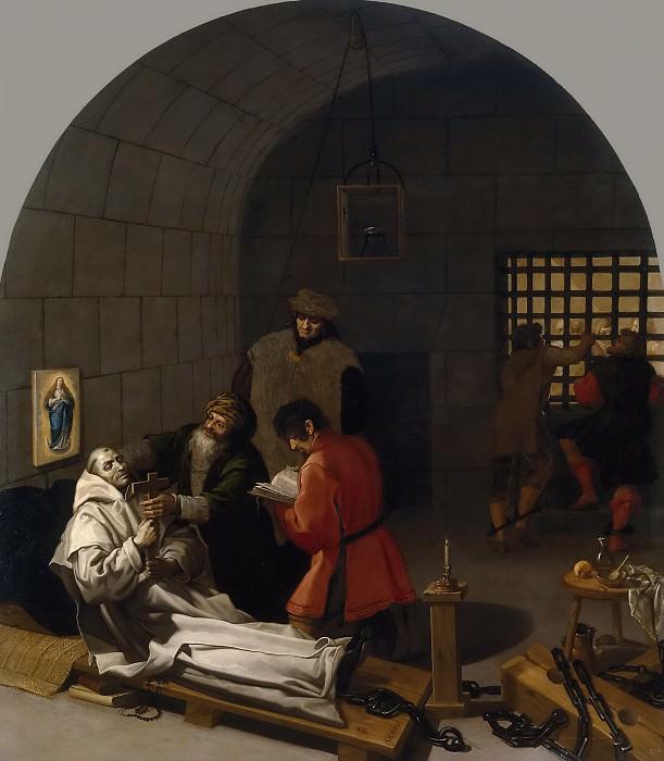 Carducho, Vicente -- Muerte de Landuino en los calabozos. Part 4 Prado Museum