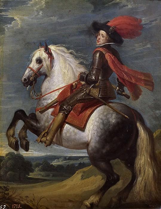 Crayer, Gaspar de -- Felipe IV a caballo. Part 4 Prado Museum