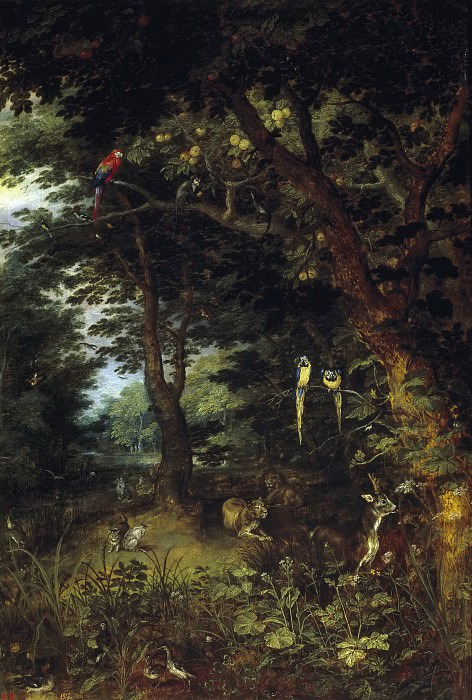 The Earthly Paradise. Jan Brueghel the Younger