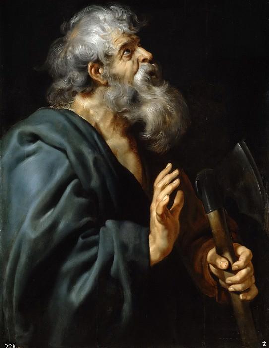 Rubens, Pedro Pablo -- San Matías. Part 4 Prado Museum