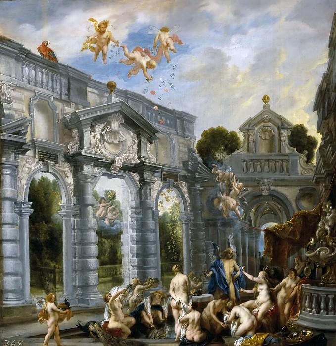 Jordaens, Jacob -- El amor de Cupido y Psique. Part 4 Prado Museum