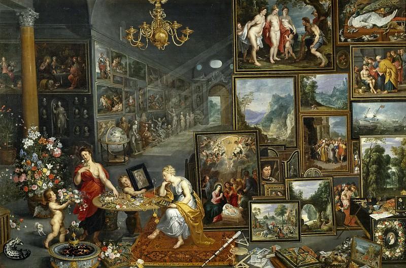 Brueghel el Viejo, Jan -- La Vista y el Olfato. Part 4 Prado Museum
