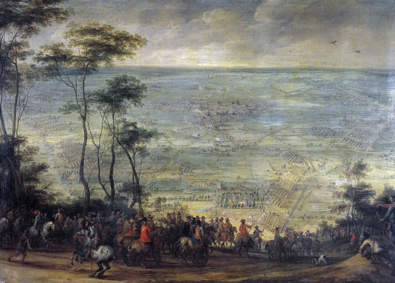 Snayers, Peter -- Toma de Ypres. Part 4 Prado Museum