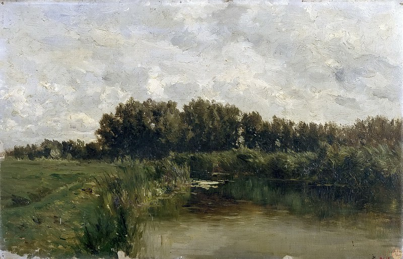 Хаэс, Карлос де -- Озеро во Фрисландии. Часть 4 Музей Прадо