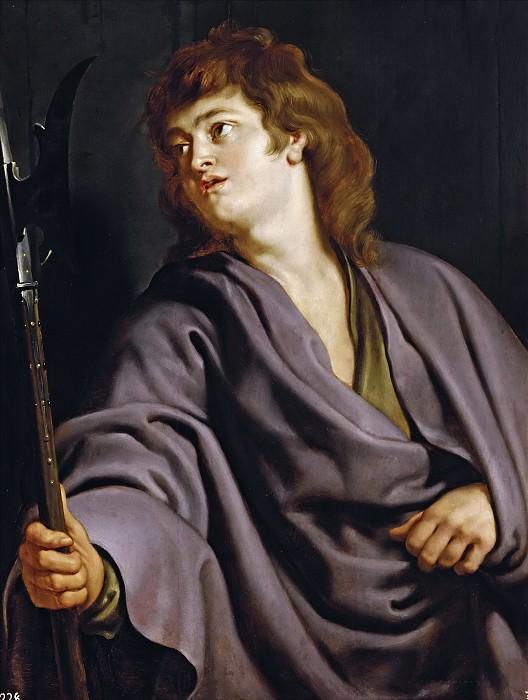 Рубенс, Питер Пауль -- Святой Матфей. Часть 4 Музей Прадо