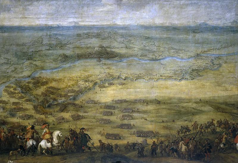 Snayers, Peter -- Socorro de la plaza de Lérida. Part 4 Prado Museum