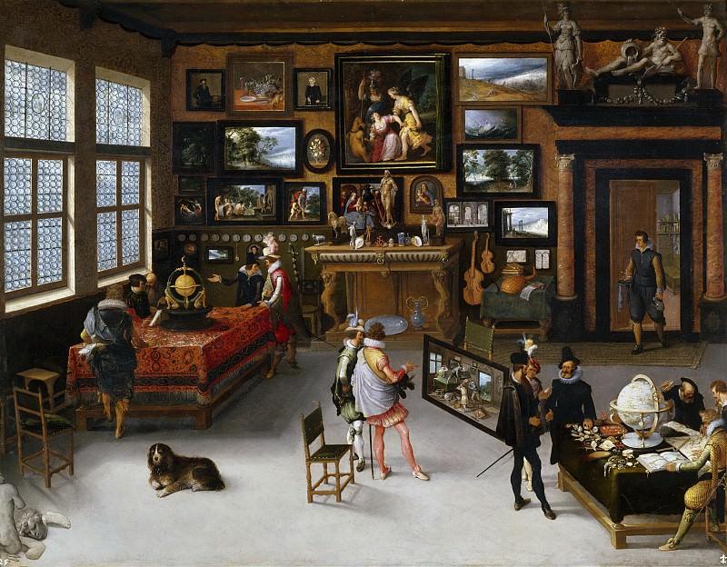 Stalbent, Adriaen van -- Las Ciencias y las Artes. Part 4 Prado Museum