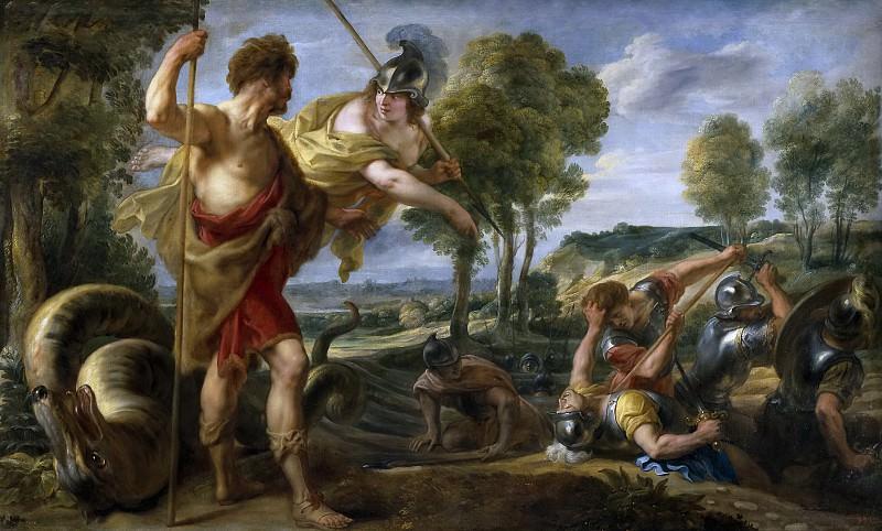 Jordaens, Jacob -- Cadmo y Minerva. Part 4 Prado Museum