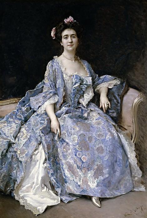 Madrazo y Garreta, Raimundo de -- María Hahn, esposa del pintor. Part 4 Prado Museum