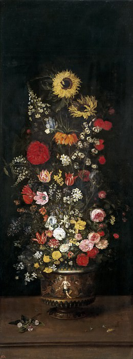 Florero. Jan Brueghel The Elder