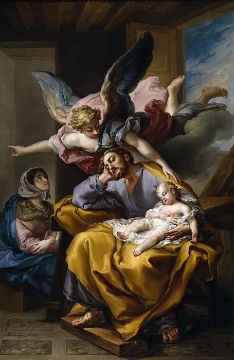 Лопес и Портана, Висенте -- Сон св Иосифа. Часть 4 Музей Прадо