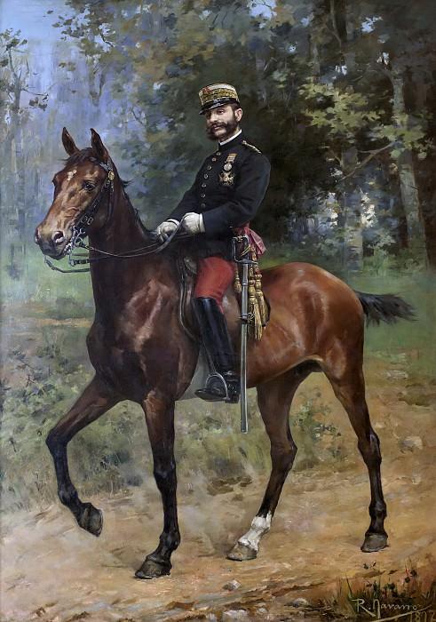 Navarro, Román -- El rey Alfonso XII a caballo. Part 4 Prado Museum