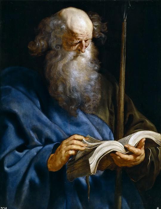 Rubens, Pedro Pablo -- Santo Tomás. Part 4 Prado Museum