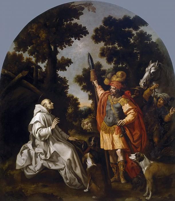Carducho, Vicente -- Encuentro de San Bruno con el conde de Sicilia y Calabria. Part 4 Prado Museum