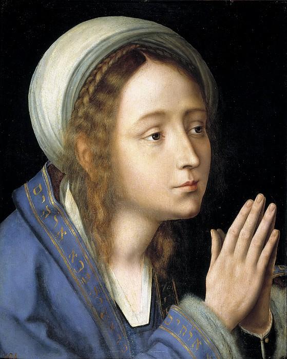Massys, Quentin -- La Virgen María. Part 4 Prado Museum
