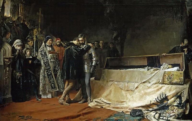 Морено Карбонеро, Хосе -- Обращение герцога Гандии. Часть 4 Музей Прадо