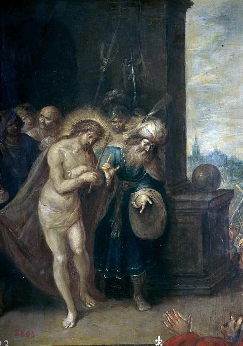 Francken, Frans II -- Ecce Homo. Part 4 Prado Museum
