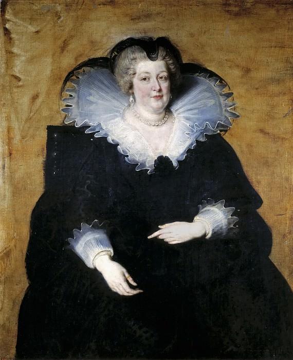 María de Medici, reina madre de Francia. Peter Paul Rubens