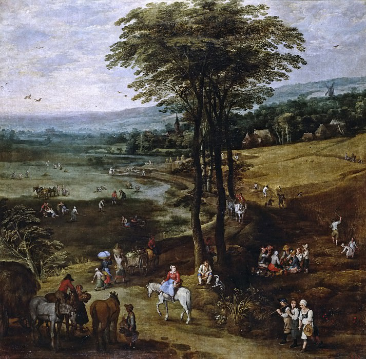 La vida en el campo. Jan Brueghel The Elder