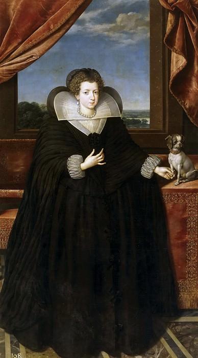 Pourbus el Joven, Frans -- Isabel de Francia, esposa de Felipe IV. Part 4 Prado Museum