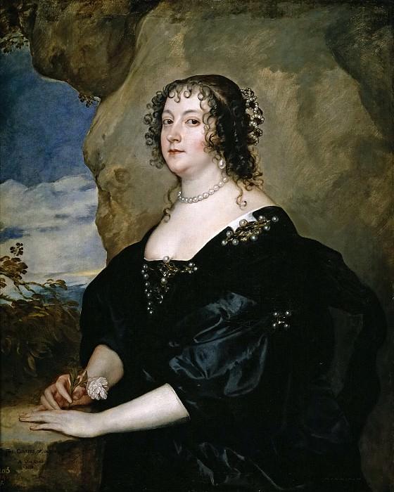 Dyck, Anton van -- Beatrice, condesa de Oxford. Part 4 Prado Museum