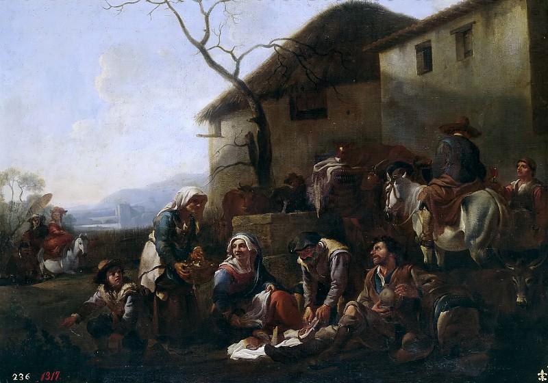 Miel, Jan -- La merienda. Part 4 Prado Museum