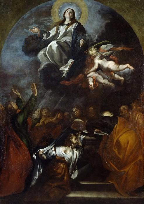 Кабесалеро, Хуан Мартин -- Успение Пресвятой Богородицы. Часть 4 Музей Прадо