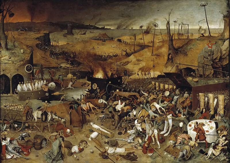 Bruegel el Viejo, Pieter -- El triunfo de la Muerte. Part 4 Prado Museum