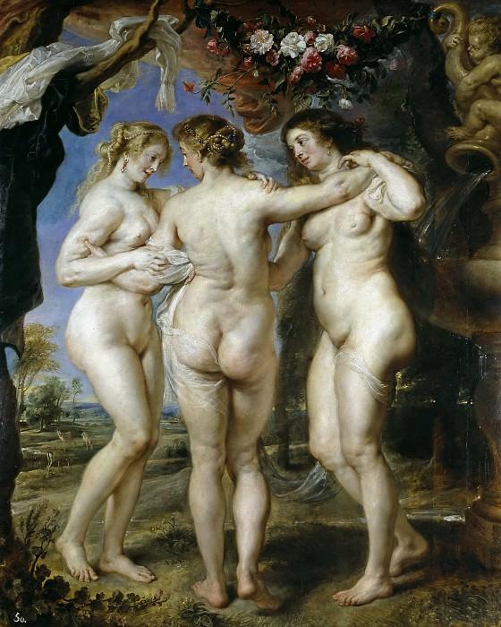 Las tres Gracias. Peter Paul Rubens