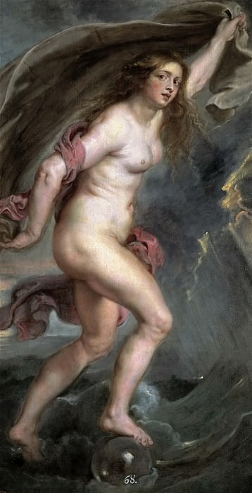 Anónimo (Taller de Rubens, Pedro Pablo) -- La Fortuna. Part 4 Prado Museum