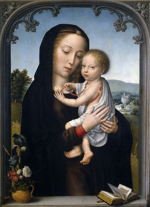David, Gérard (Atribuido a) -- La Virgen con el Niño. Part 4 Prado Museum