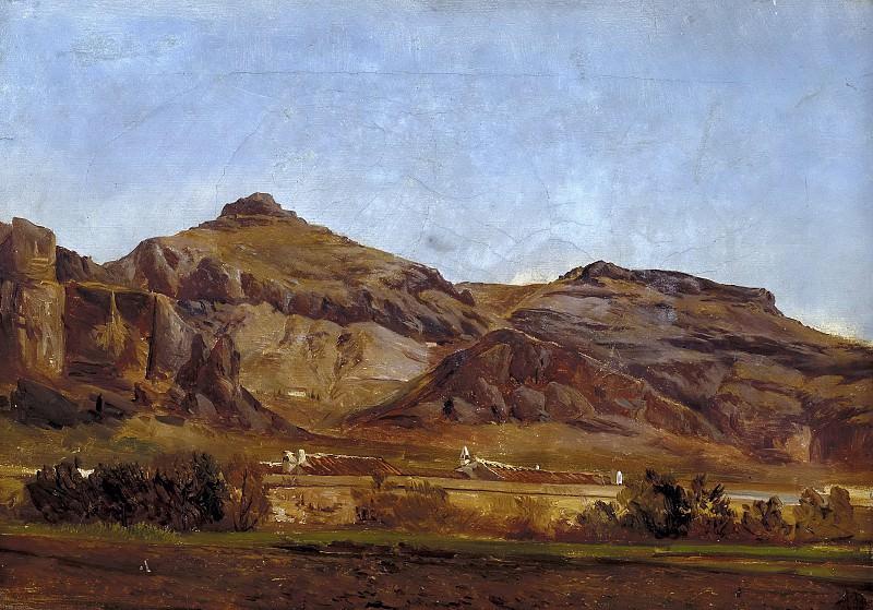 Haes, Carlos de -- Despeñaperros. Part 4 Prado Museum