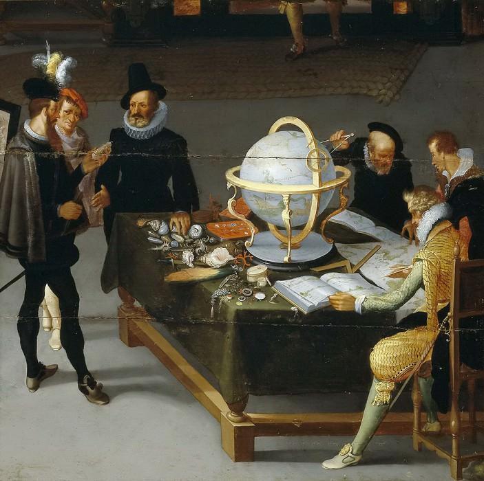 Сталбемт, Адриан ван -- Искусства и науки (фрагмент). Часть 4 Музей Прадо