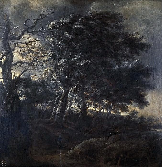 Vlieger, Simon de -- Bosque. Part 4 Prado Museum