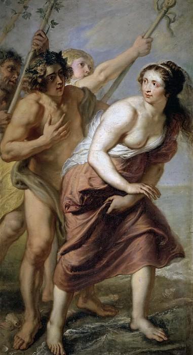 Quellinus, Jan Erasmus -- Baco y Ariadna. Part 4 Prado Museum