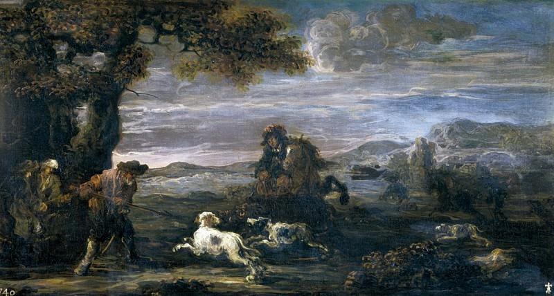 Момпер, Ян де -- Кабанья охота. Часть 4 Музей Прадо